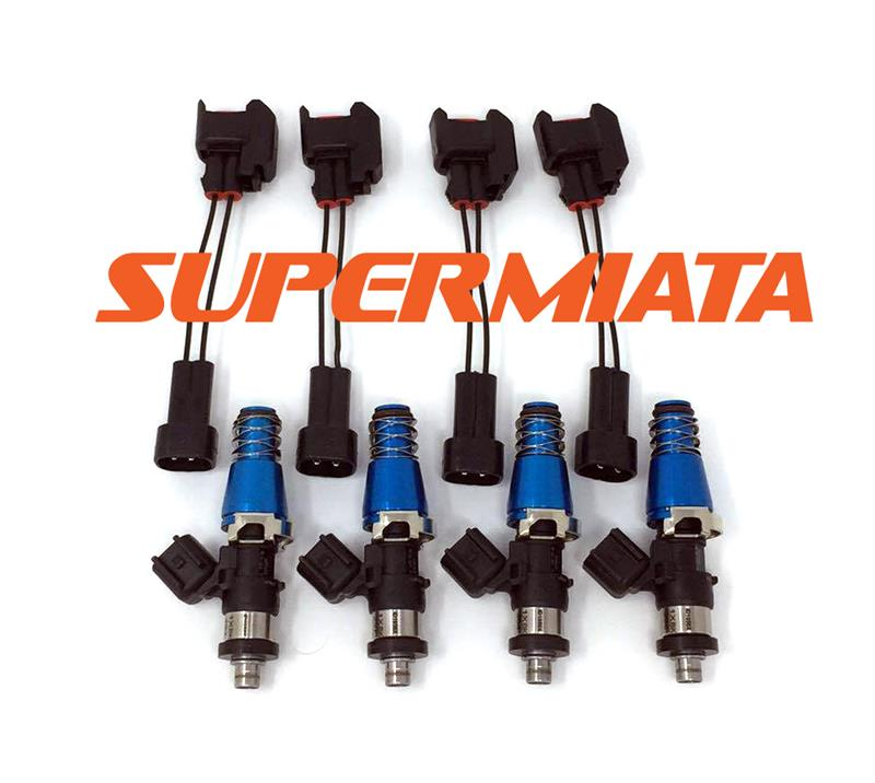 Injector Dynamics fuel injectors - Miata