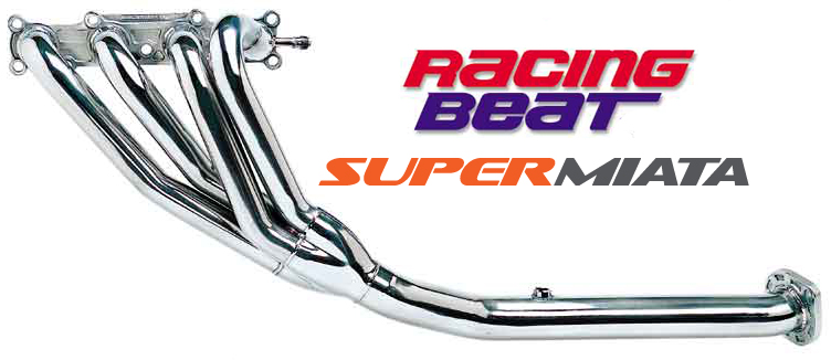 Racing Beat header Miata